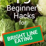 pin for beginners hacks for bright line eating