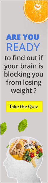 Banner ad for the Bright Line Eating Food Freedom Quiz