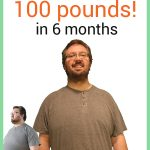 Jim before and after weight loss photos how i lost 100 pounds in 6 months for no longer chunky